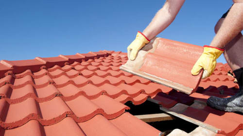 Can different types of vents be used on a roof?