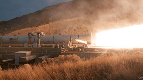 NASA tests the most powerful rocket ever built