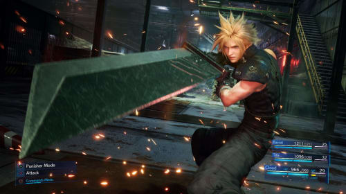 "What if FFVII was a ""remaster"" rather than a ""remake"""