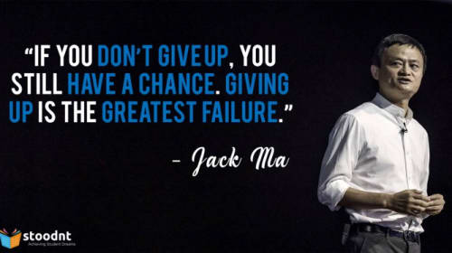 I Wish Someone Told Me This When I Was 20 — Jack Ma