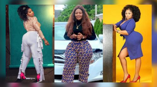 Nigeria's 10 Most Curvaceous Celebrities
