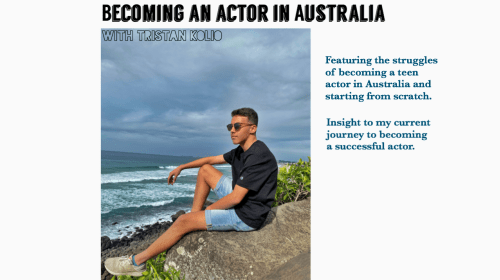 Becoming an Actor In Australia