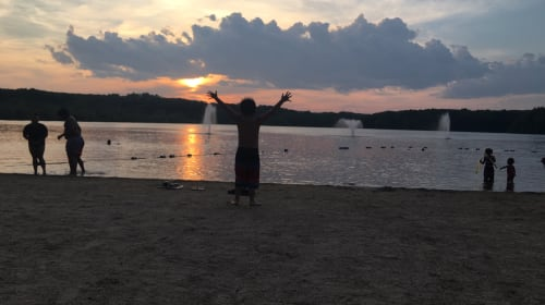 Sunset in Rhode Island
