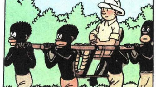 Tintin and the White Man's Burden