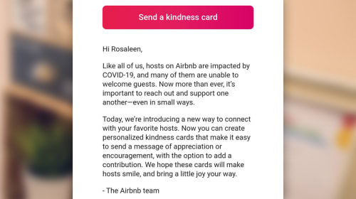 Airbnb asks guests to donate to landlords who've lost income to pandemic