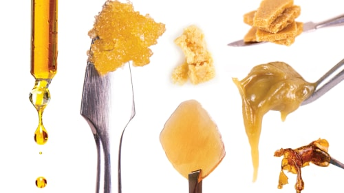 Medical Marijuana Concentrate Options