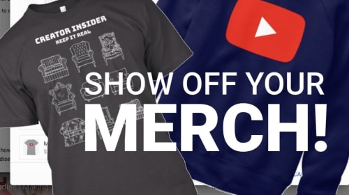 Best Youtuber Merchandise Secrets and Examples: