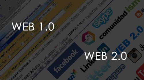 Difference between Web 2.0 and Web 1.0