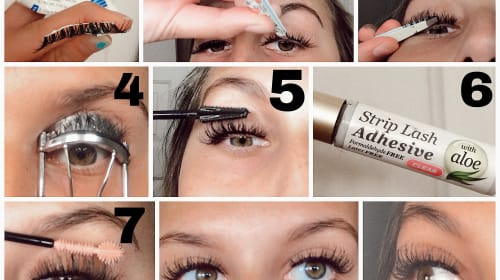 How to Trick People into Thinking that you have Lash Extensions