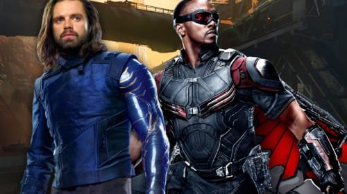 Falcon's Suit in 'The Falcon and the Winter Soldier' Gets New Official Artwork