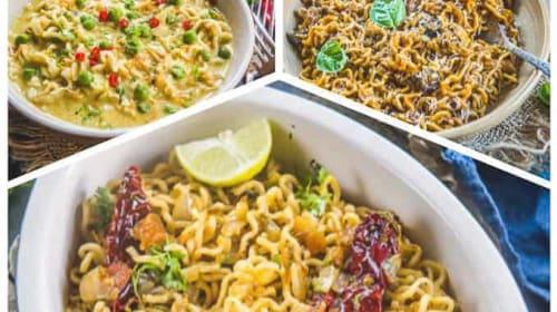 3 Innovative Maggi Recipes! Taste Maggi Recipes