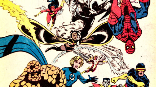 X-MEN, Fantastic Four and the Marvel Cinematic Inception.