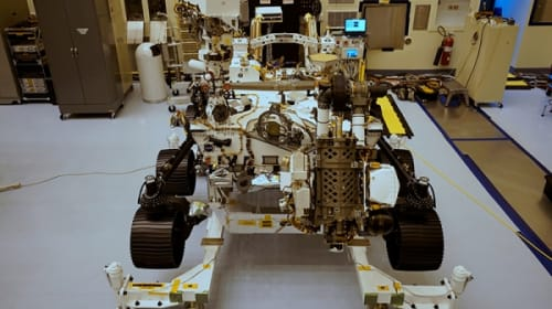 """""""Perseverance"""" a Self-Driving Car for NASA Next Mars Mission"""