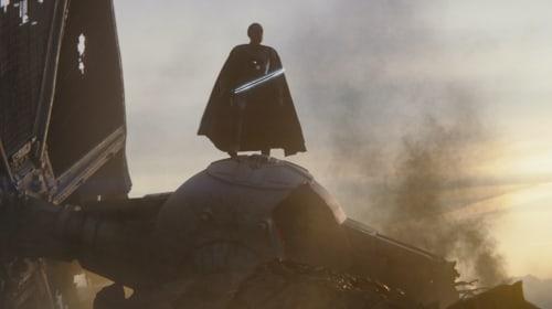 "Giancarlo Esposito Teases That The Darksaber ""Is a Key"" in 'The Mandalorian' Season 2"
