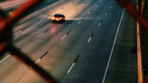 lonely lane.