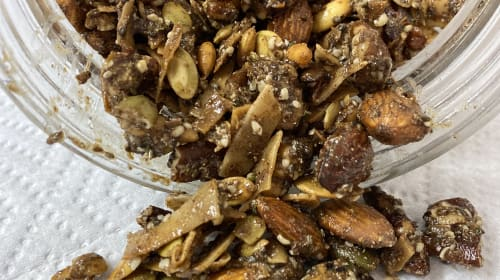 Make Grain Free Granola in your Air Fryer