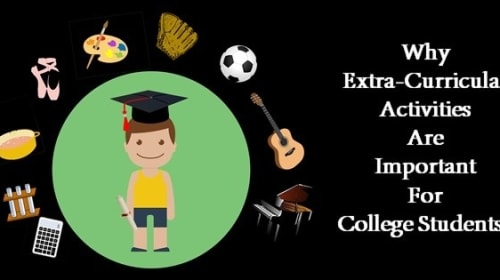 The importance of extra-curricular activities for a student