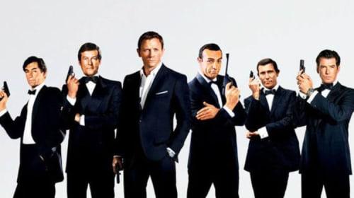 007 - On her Majesty's service since 1962