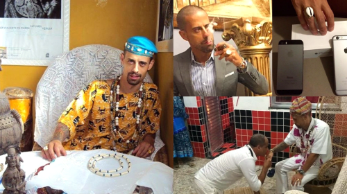 Meet Nigerian Man Who Is the Richest Babalawo in the World (Photos).