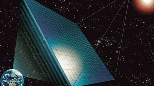 Space solar power plant: China plans to build a first photovoltaic power plant in space by 2035.