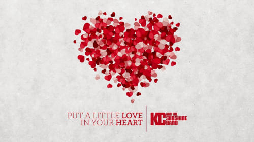 "Dance Music Pioneer Harry Wayne ""K.C."" Casey of K.C. and The Sunshine Band Releases ""Put a Little Love in Your Heart"" As the World Continues to Work Toward Unity"
