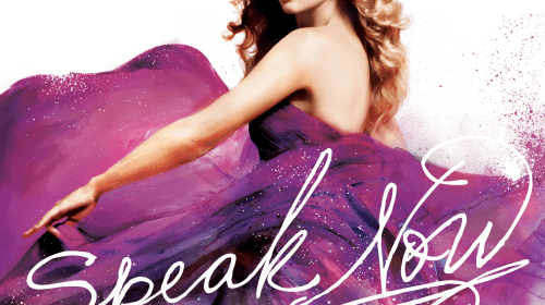 A revisit to Taylor Swift's Speak Now