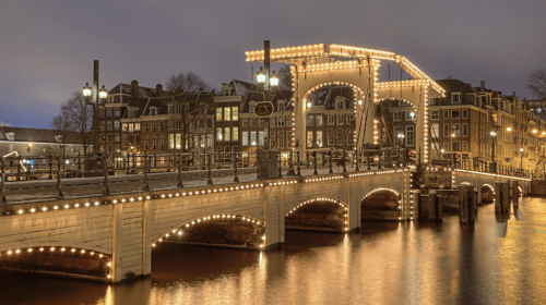 ROMANCE IN THE CANALS OF AMSTERDAM