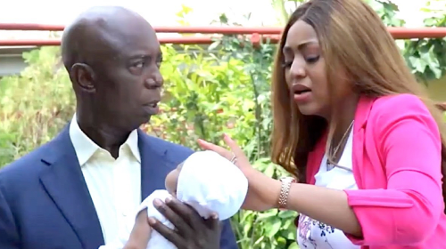 """Regina Daniels Fights Her Husband: """"My Baby Does Not Resemble You"""""""