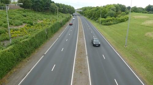 Driving Around Milton Keynes