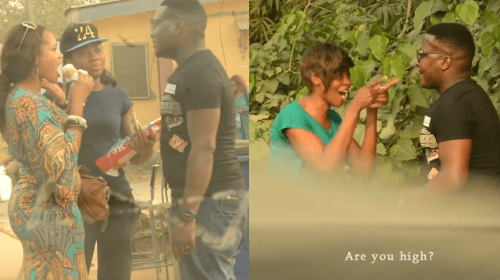 """""""How Much For One Night?"""" Nigerian Man PRANKS Lagosian Ladies in Epic Viral Video."""
