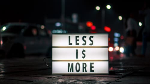 Simply Less