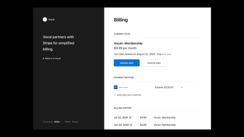 A New Way to Manage Your Vocal+ Subscription
