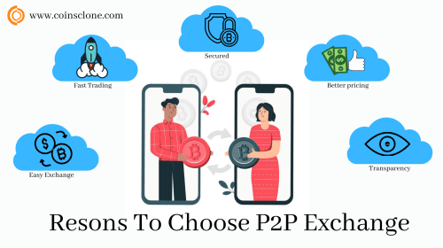 Why Do Crypto Traders Choose P2P Cryptocurrency Exchange Platforms For Trading?