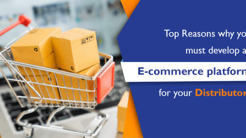 Top Reasons why you must develop an E-commerce platform for your Distributors