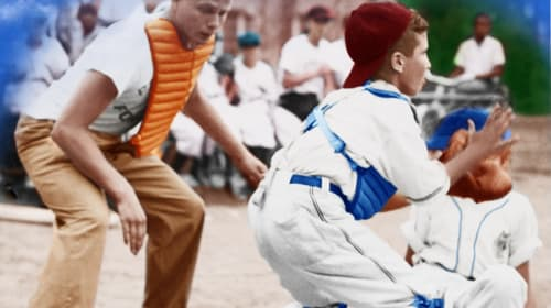 Baseball Boys Recreates 1950's Little Baseball in Mt. Vernon