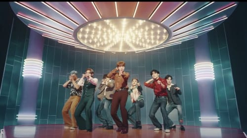 """BTS Lights It All Up with their Latest Single """"Dynamite"""""""