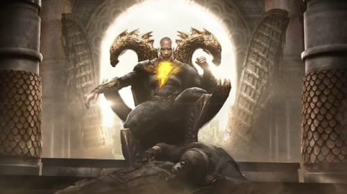 Dwayne Johnson Answers Questions At DC FanDome's 'Black Adam' Panel, Reveals Which JSA Members Will Be Featured