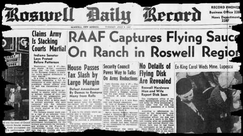 Roswell and the secret Nazi flying discs