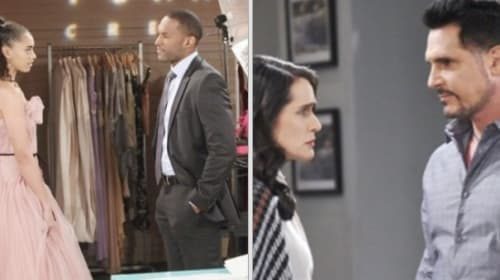 Carter woos Zoe, Quinn manipulates Bill on 'The Bold and the Beautiful'