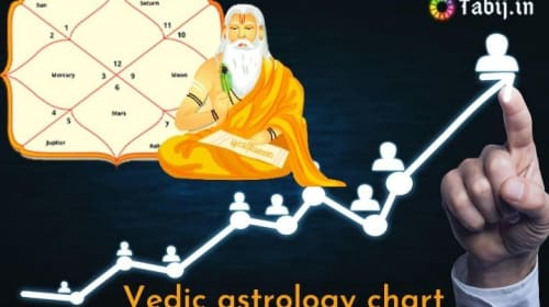 Vedic astrology chart: to reveals your future career path