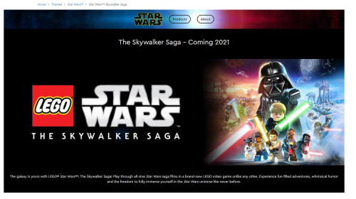 'LEGO Star Wars: The Skywalker Saga' Video Game Delayed To 2021?