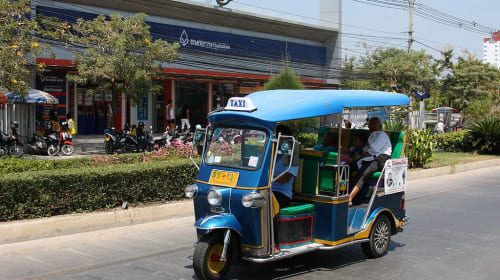 How to getting around Hua Hin