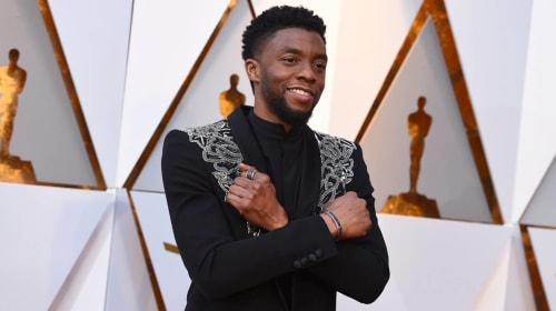 RIP Chadwick Boseman:  You Were A Class Act