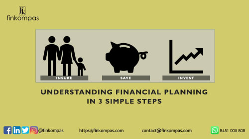 Understanding Financial Planning in 3 Simple Steps - Insure. Save. Invest.