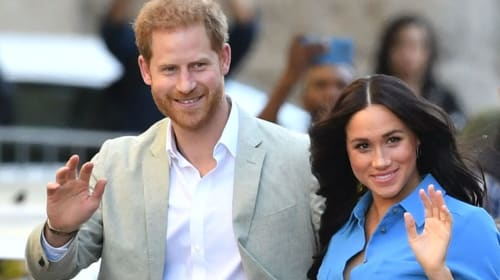 Harry and Meghan causing quite a stir in their new Santa Barbara neighborhood