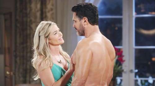 'The Bold and the Beautiful' Dollar Bill and Shauna play the waiting game