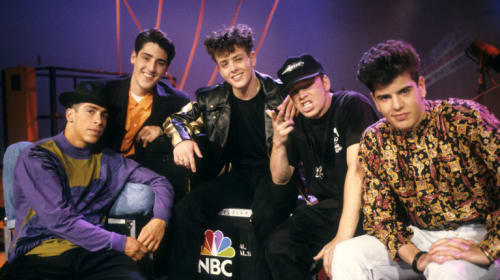 NKOTB THEN & NOW
