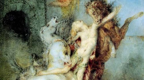 Hercules & His Triumph Over The Flesh-Eating Mares of Ancient Greece