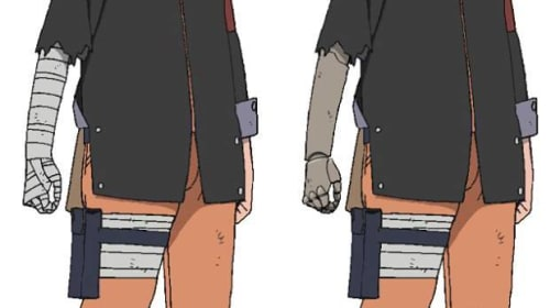 How Did Naruto Get an Arm Back?