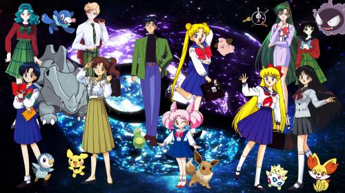 World Collide Again, the Sailor Senshi Reimagined as Pokémon Trainers!